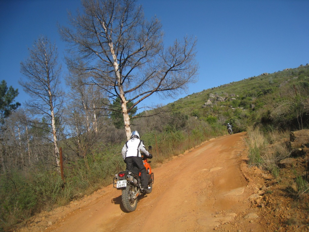 Fanny training on basic off road course
