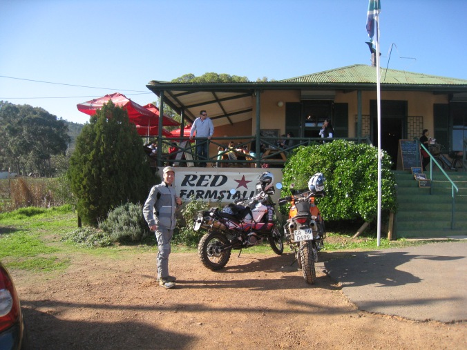 Leon from Country Trax .. our off road riding instructor