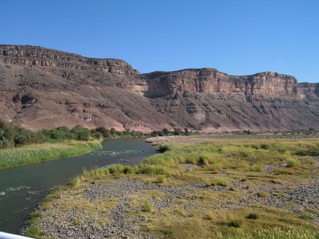 Orange River between Namibia and South Africa
