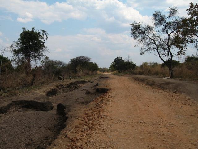 Roads could be a bit dodgy