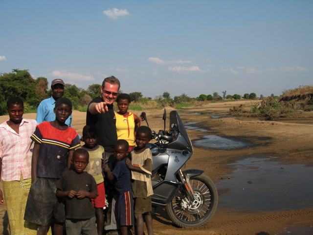 Riding around in South Luangwa