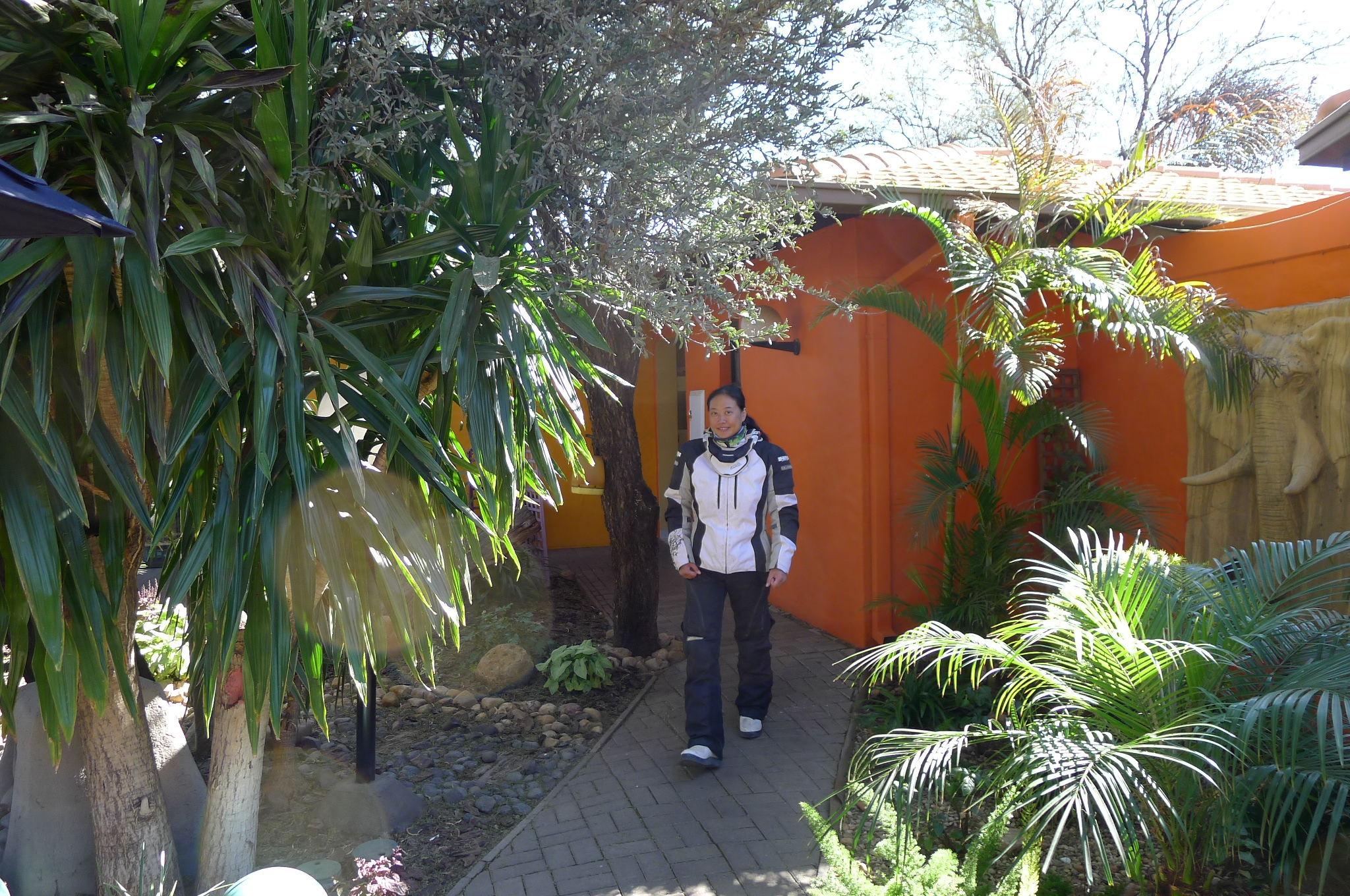 Staying in Windhoek