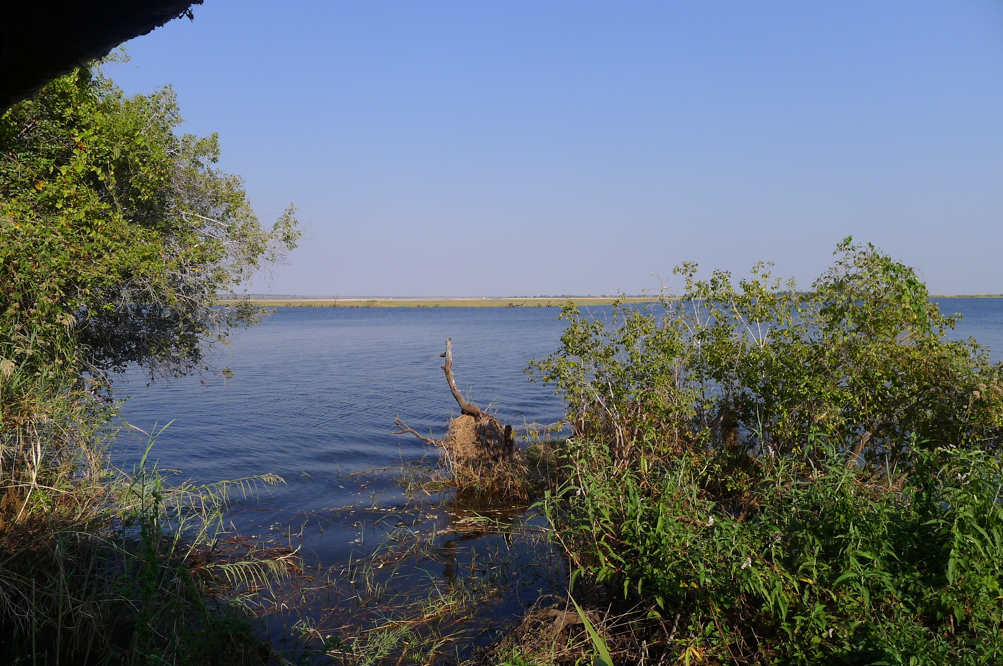 Zambezi River ... Zambia on other side