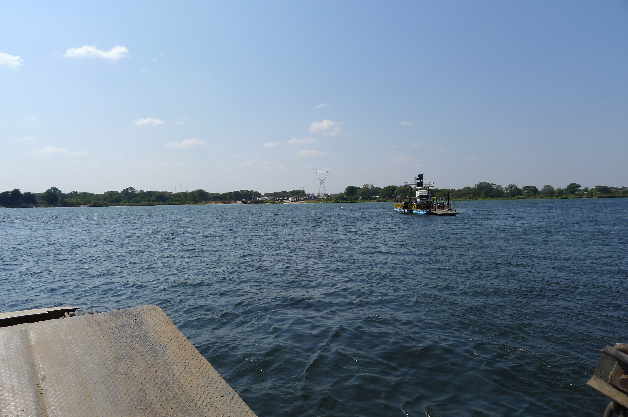 Crossing the Zambezi