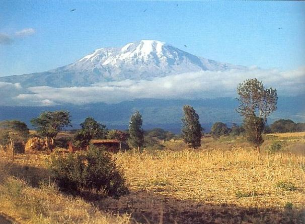 Kilimanjaro... on a good day