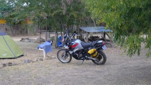 A fellow bikers bike