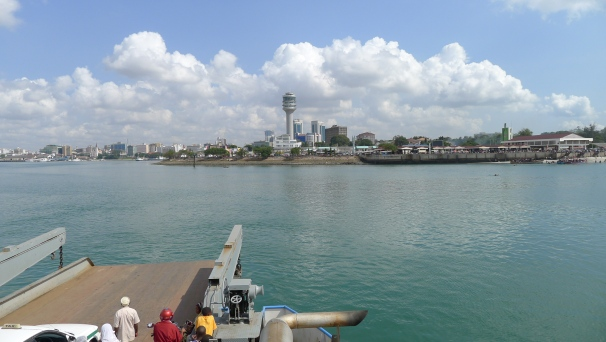 Dar Es Salaam from the ferry boat... one of my favourite African cities