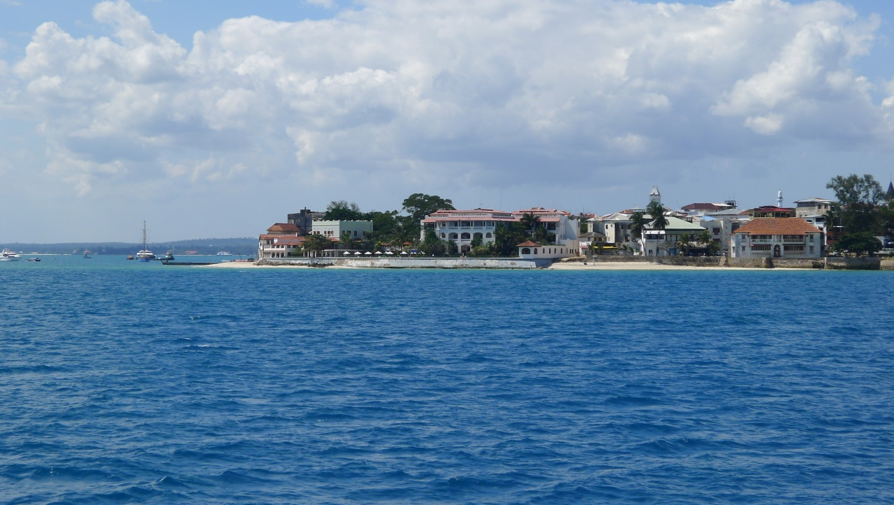 Sailing towards Zanzibar