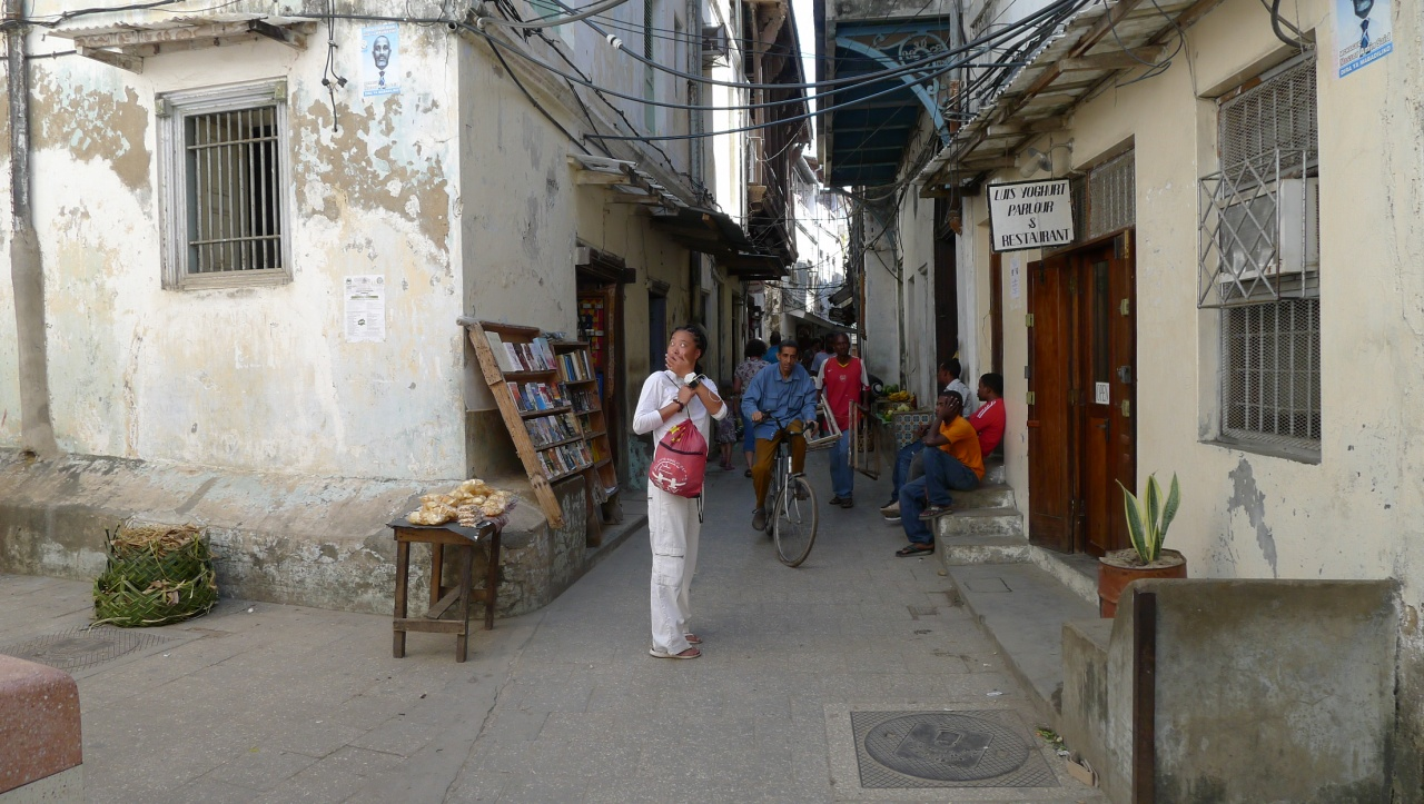 Wandering about in Stone Town