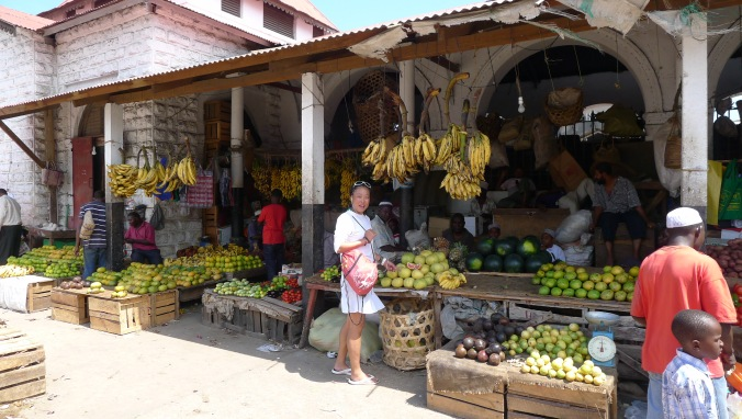 Colourful markets.