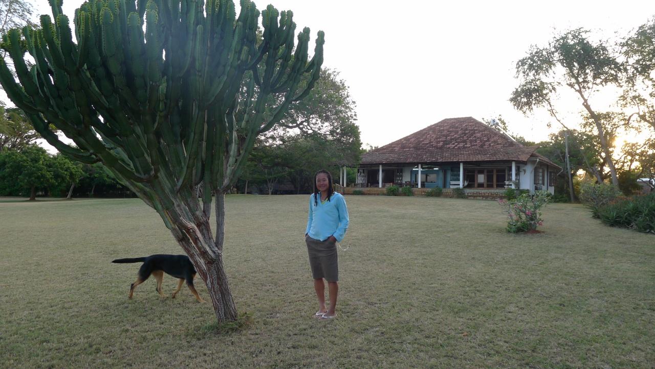 The Allards house in Tanga