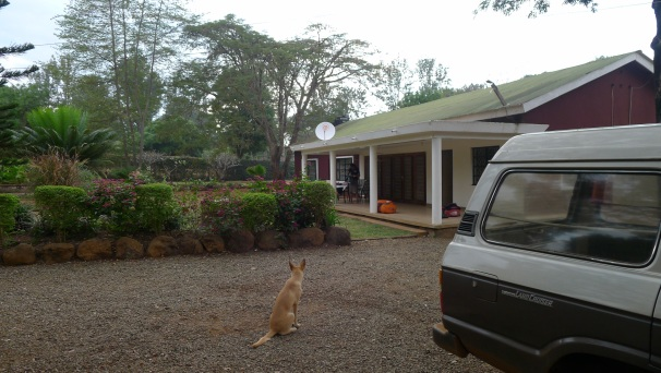 Our hosts house in Moshi