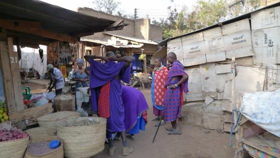 Local villagers in Mto Wa Mbu