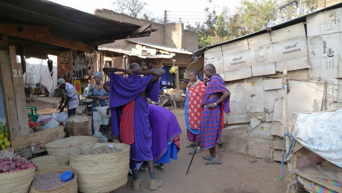 Local villagers in Mto Wa Mbu