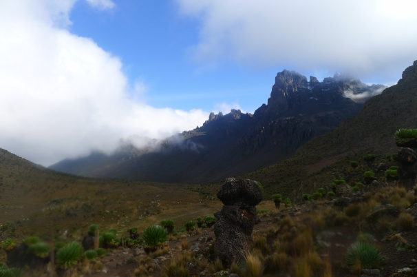 The Summit, which I had just descended and was now hiking back down to Nanyuki