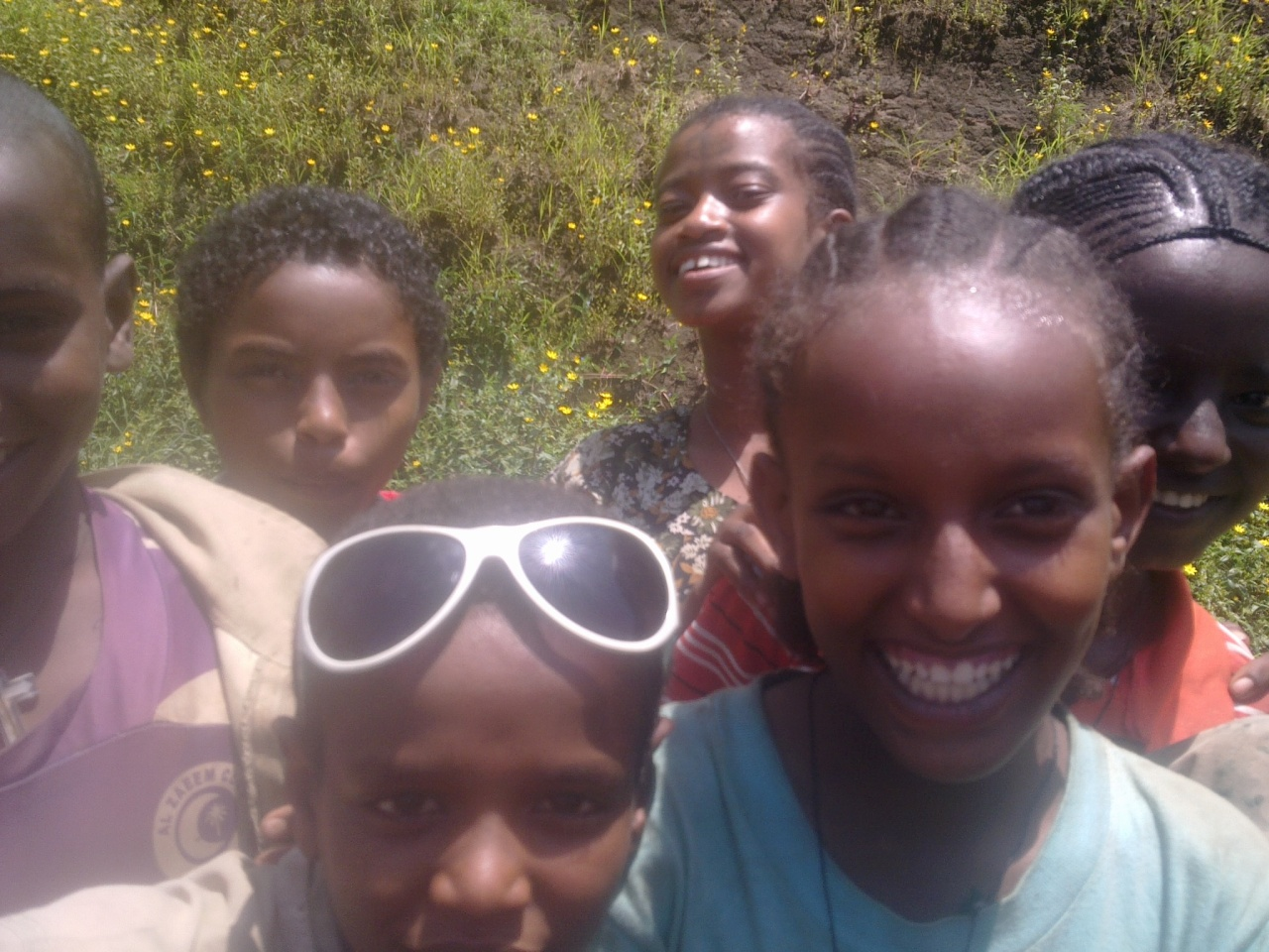 Ethiopian kids .. and there are lots of them.