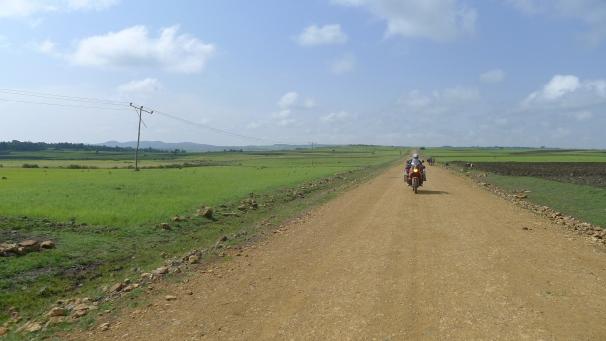 Ride to Lake Tana