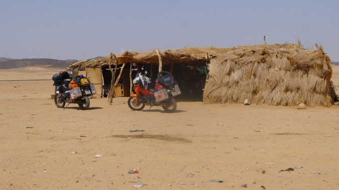 A rest stop .. Nubian style
