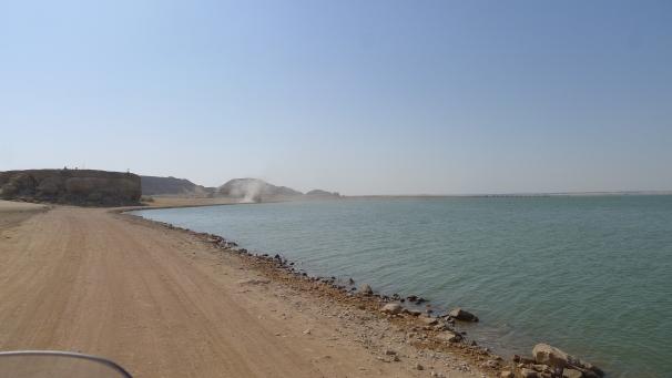 Ride along the shores of Lake Nasser