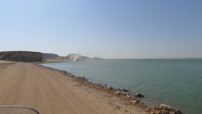 Ride along the shores of Lake Nasser