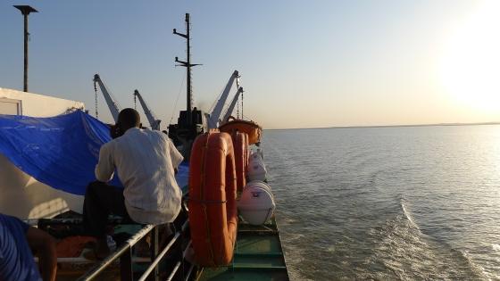 Heading north towards Egypt