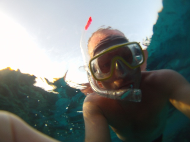 Snorkeling with my Go Pro