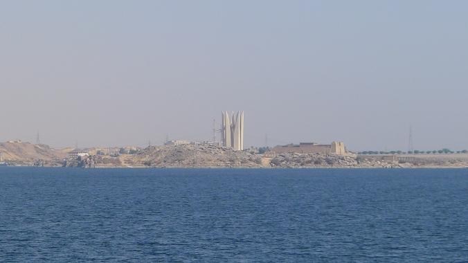 Approaching Aswan