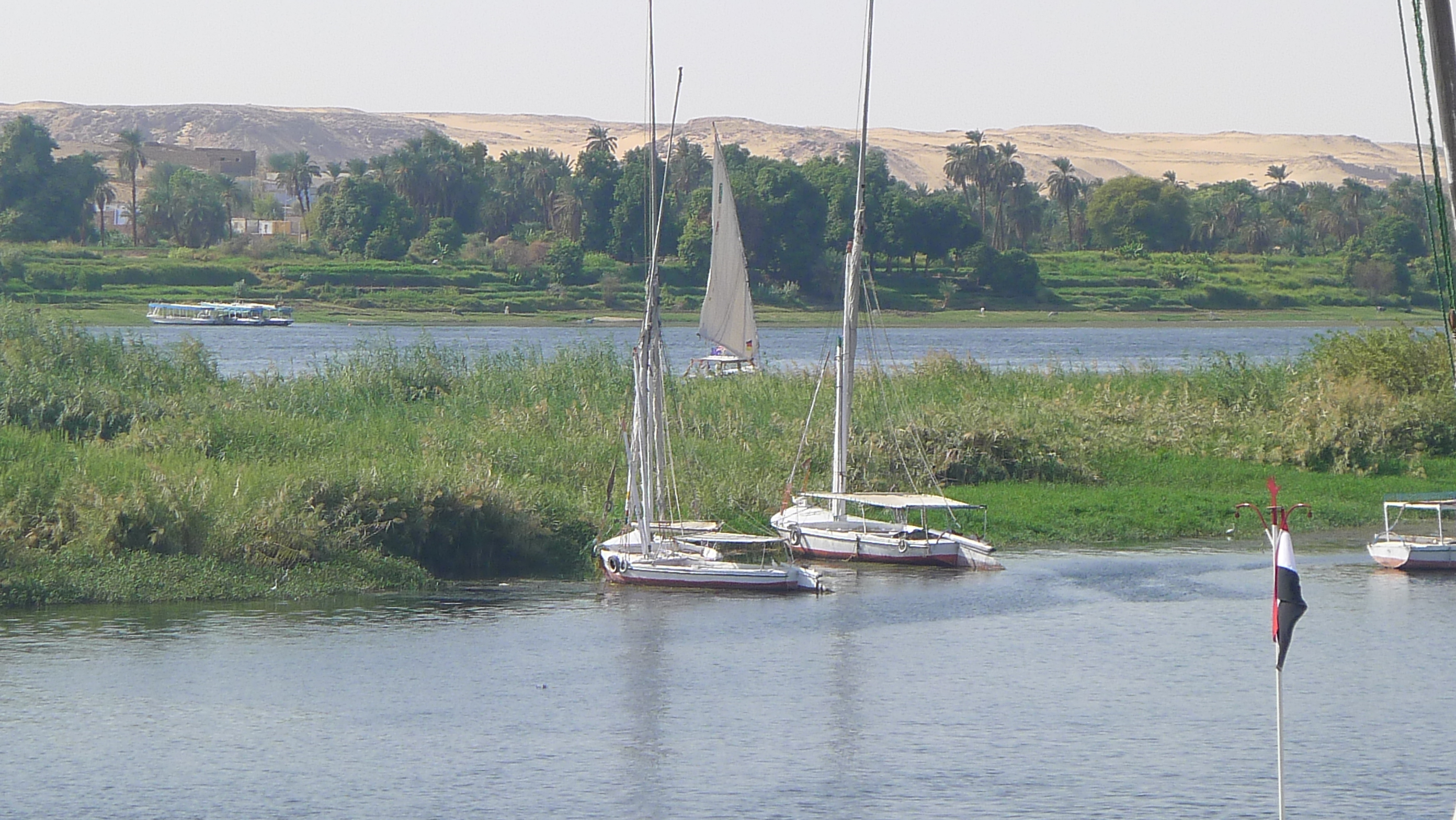 The Nile .. our companion for many weeks