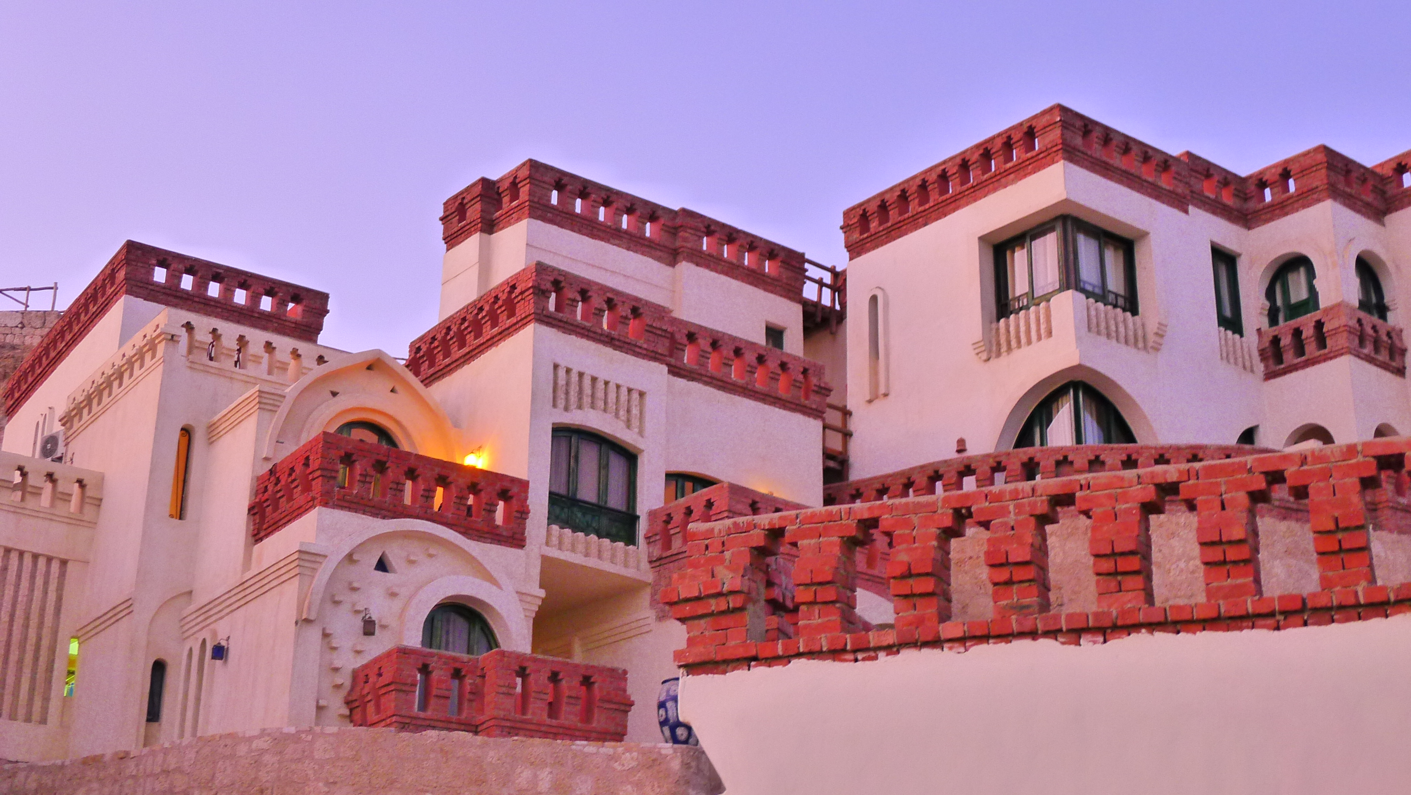 Our hotel at Shark Bay in Sharm El Sheikh