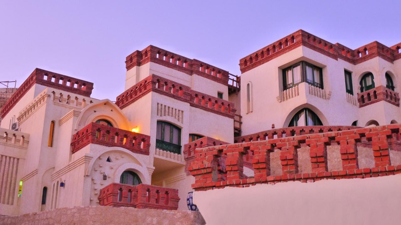 Our hotel at Shark Bay in Sharm El Sheikh