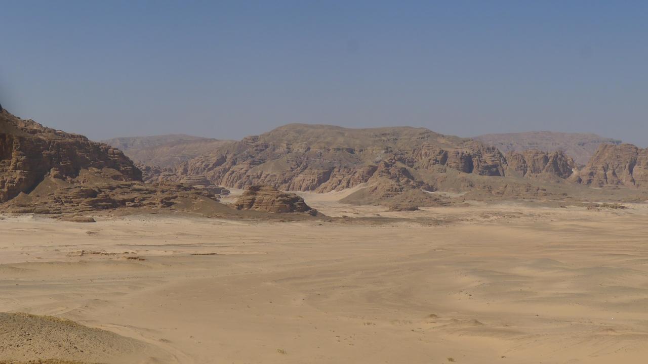 The Sinai desert