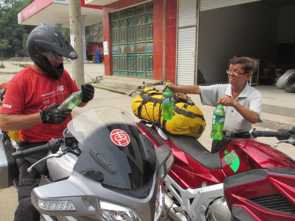 This guy saved our bacon.... no fuel for 2 days between Guizhou and Guangxi