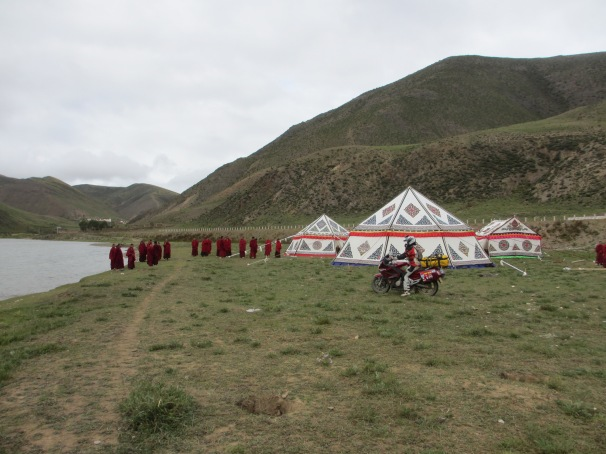 Goodbye to our friends from Tibet. We will come back. One day.