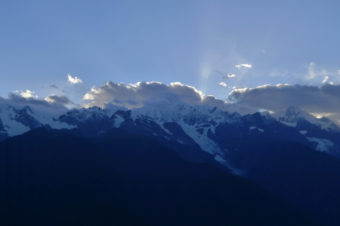 The Himalayas... what can you say?