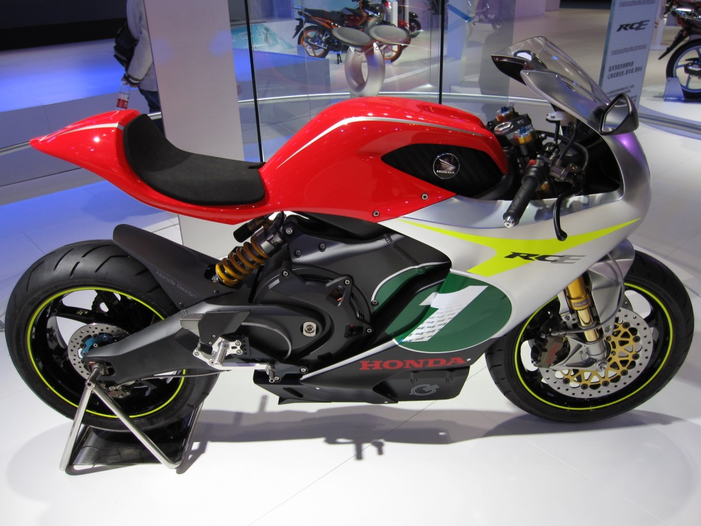 Electric bike from Honda .. maybe the future of motorcycling?