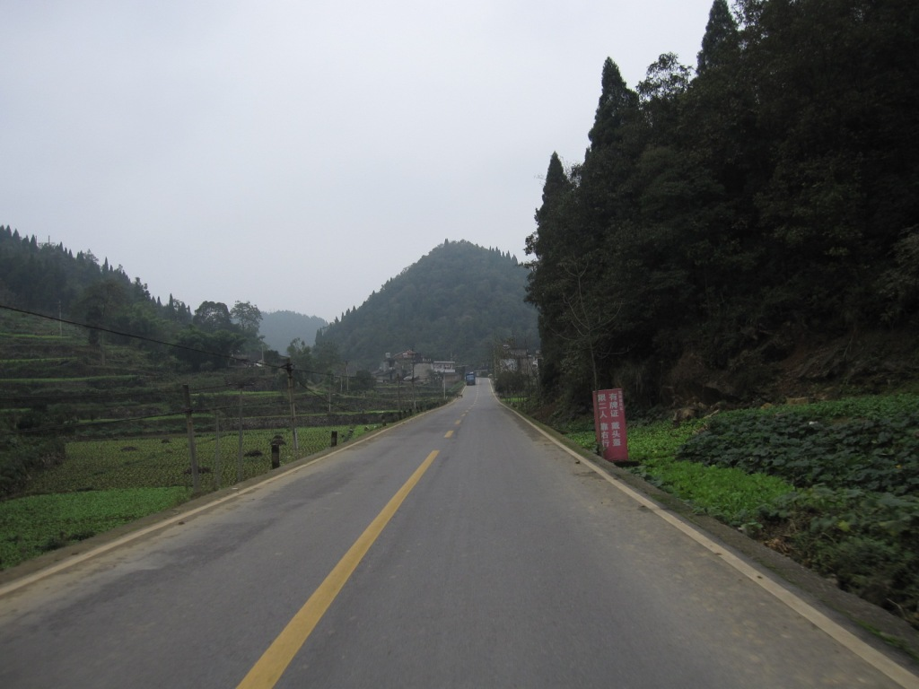 Its as if everyone has gone to Chongqing City and left the rural parts of the province
