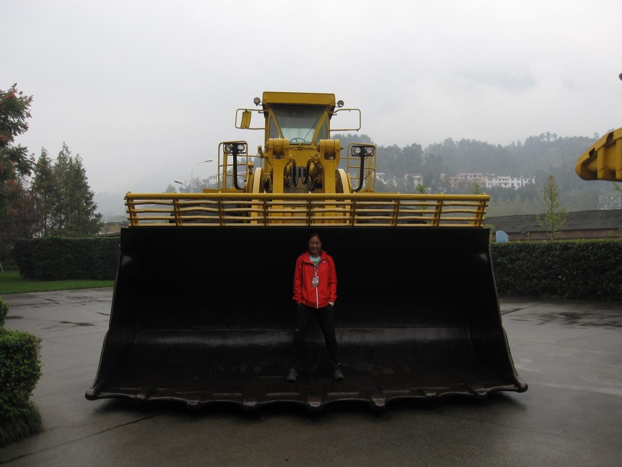 Wandering around the dam construction museum