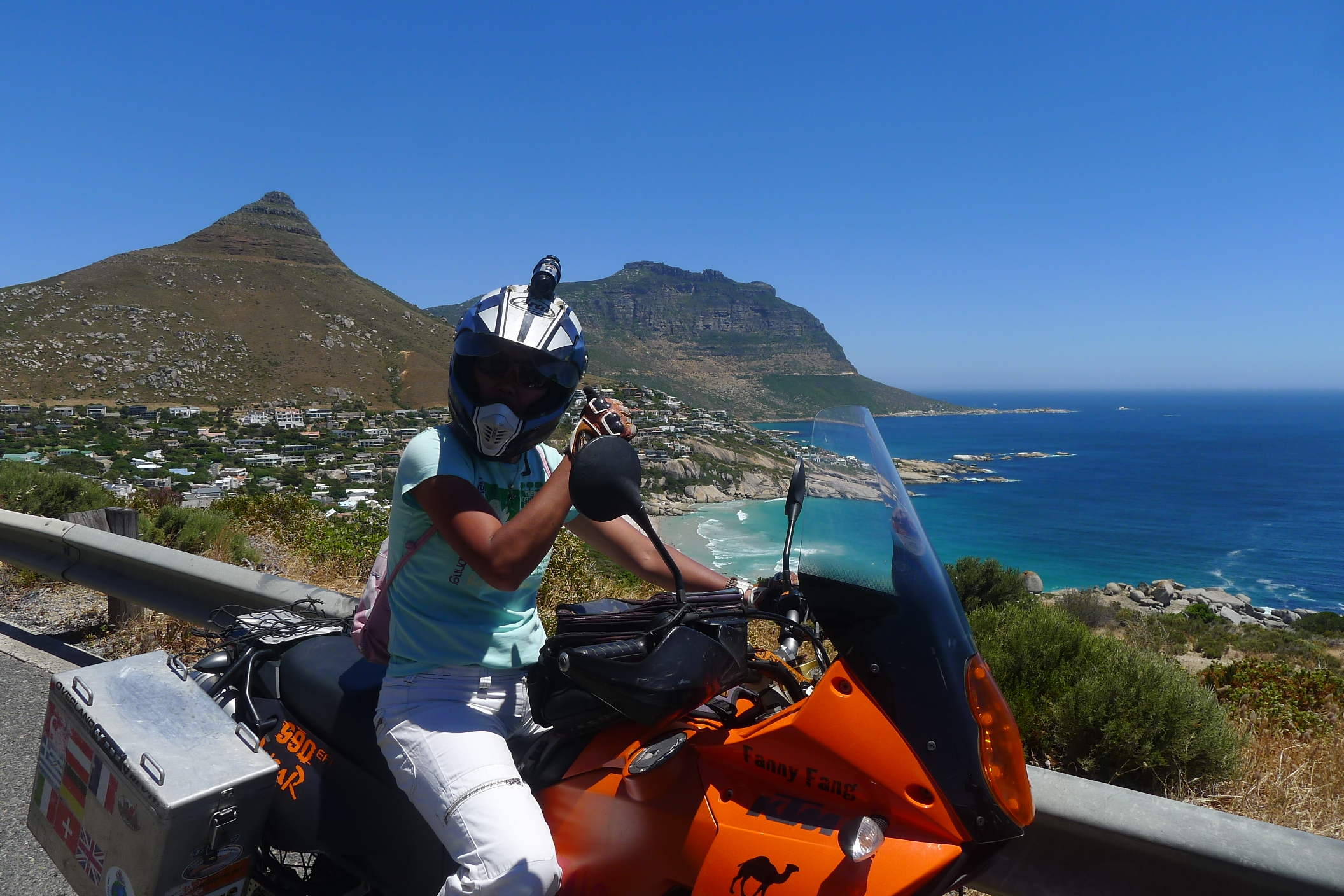 Cruising about Cape Town