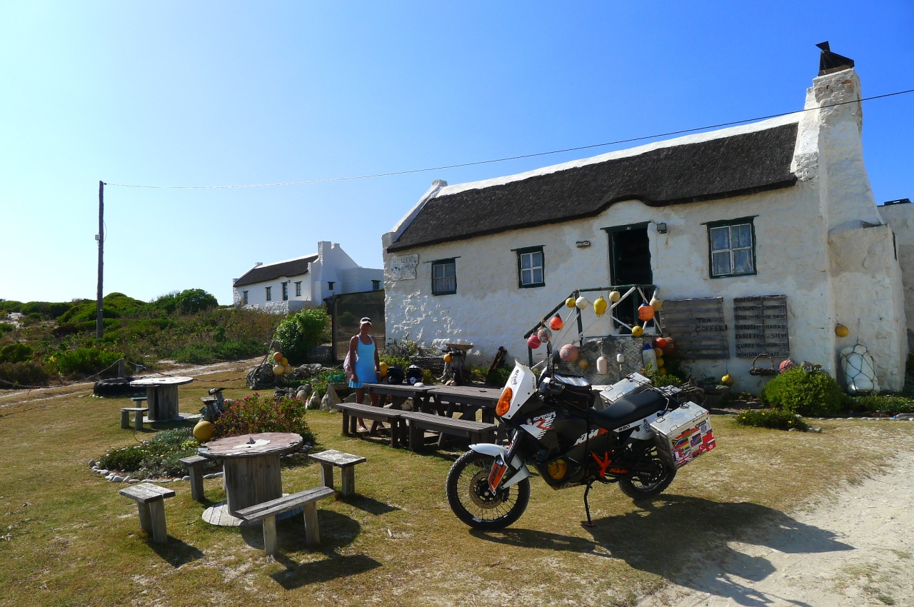 Back in Arniston ---southern tip of Africa