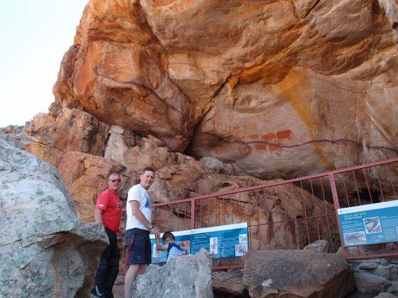 My friends Oliver and Sri and their son Louis from Hong Kong joined me for a tour in the Cederberg