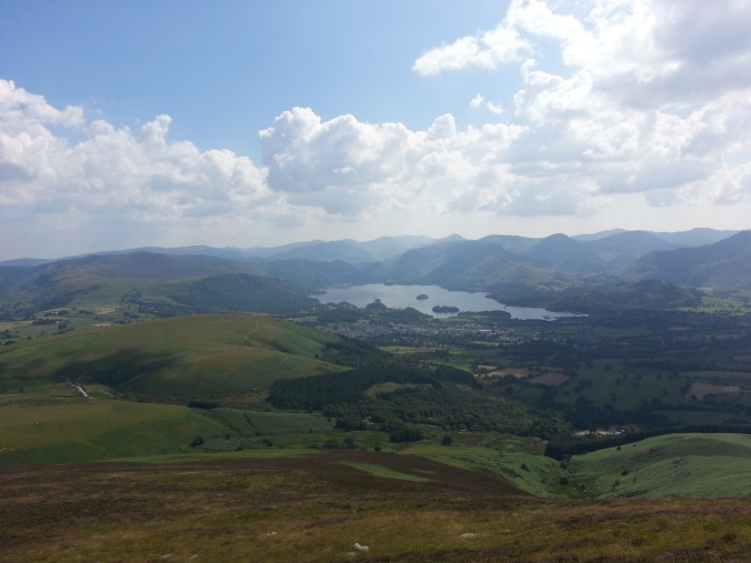 Keswick from Skiddaw