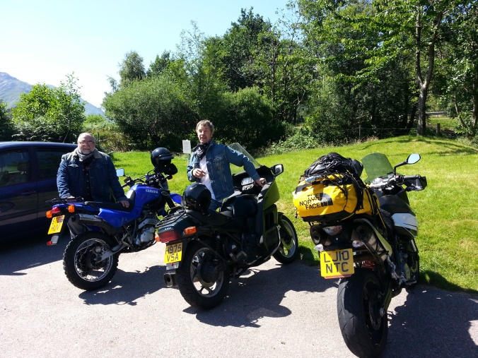 Bobby and Willie who took me for a ride around the Ben Nevis area
