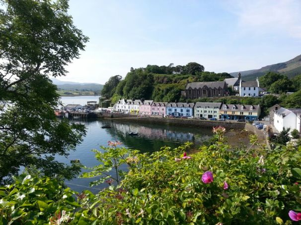 Pretty Scottish villages on west coast. An incredibly beautiful part of the world