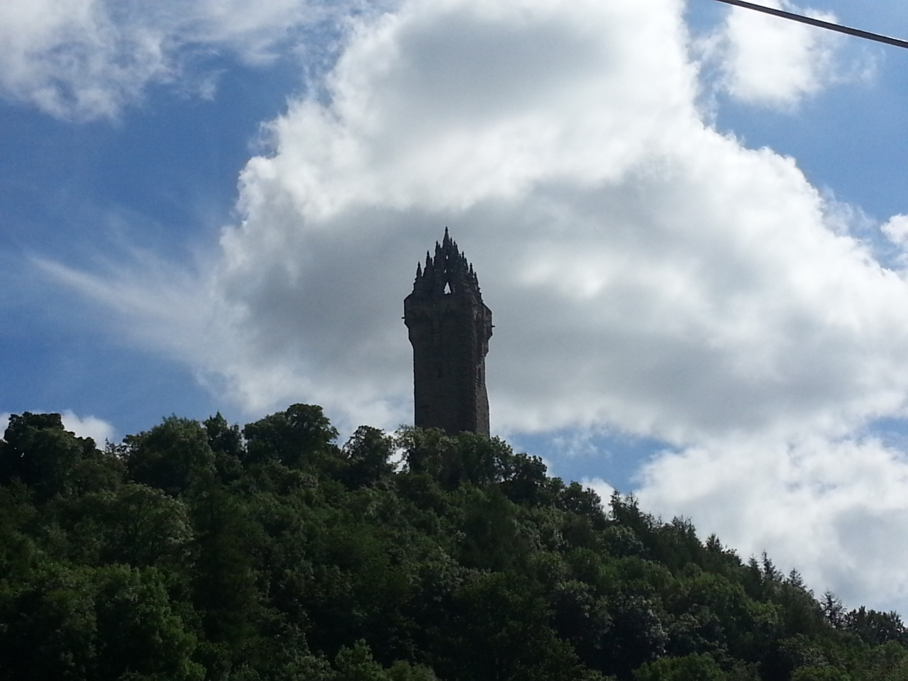 Yous can take me BMW, but yous no be taking my KTM  ( William Wallace Memorial near Stirling)