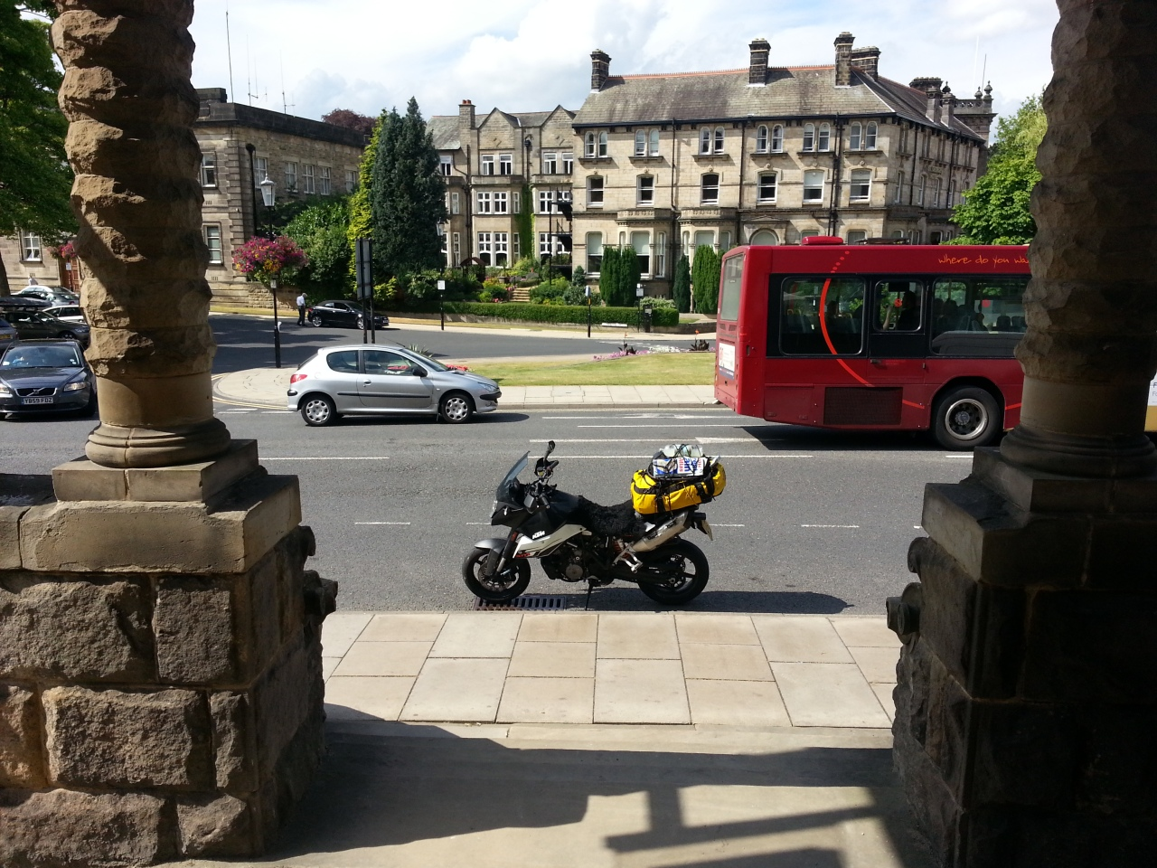 Harrogate ... outside the famous Spa... or is it a Chinese restaurant... ?