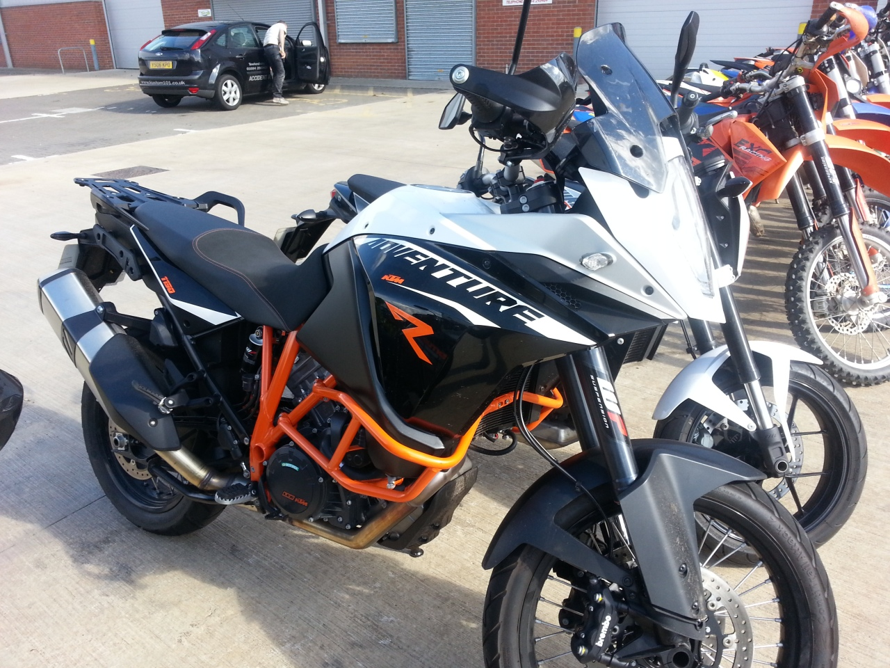My KTM 990 SMT's status as best road bike I have ever ridden could be taken by this big boy.... the KTM 1190 Adventure R ... yours for 13250pounds.