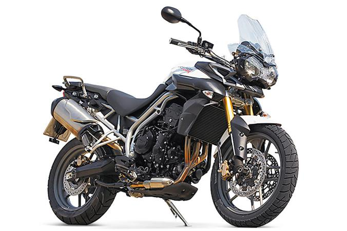 The Triumph Tiger 800... a superb around bike with one of the best engines that there is on two wheels.