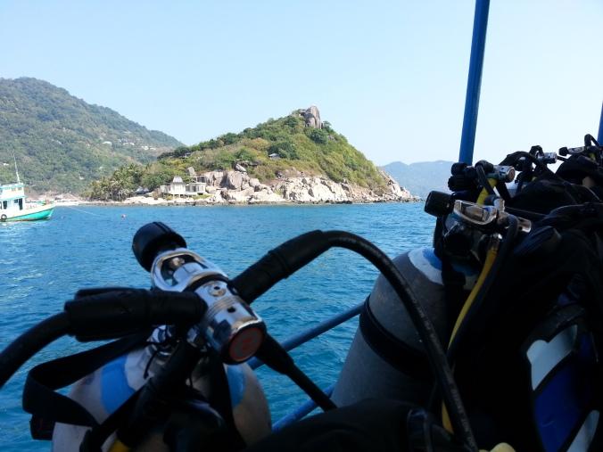 Off scuba diving