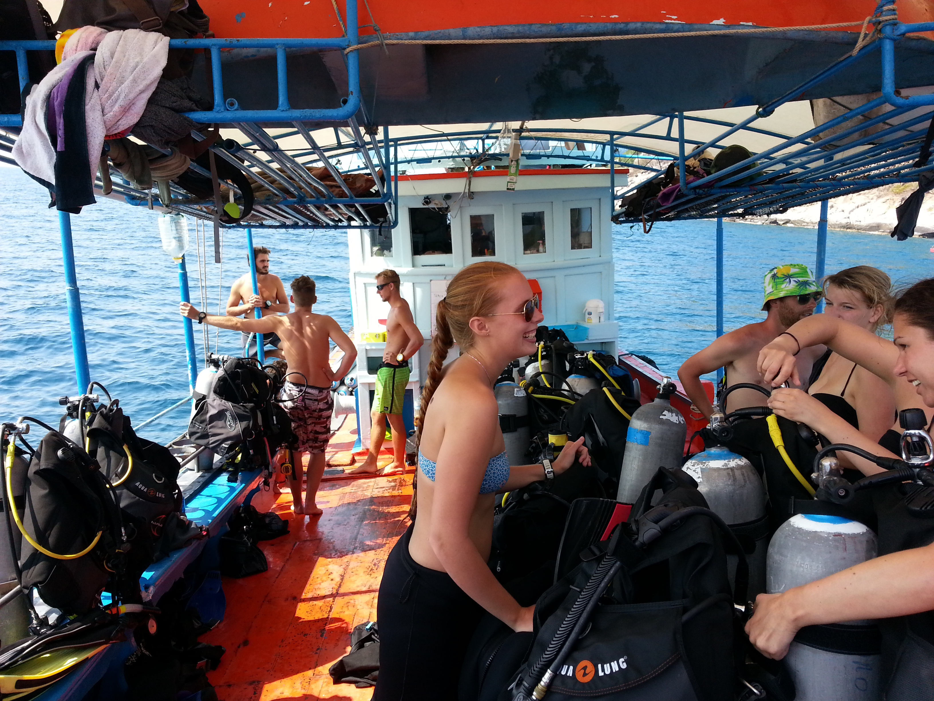 Day out diving in Koh Tao