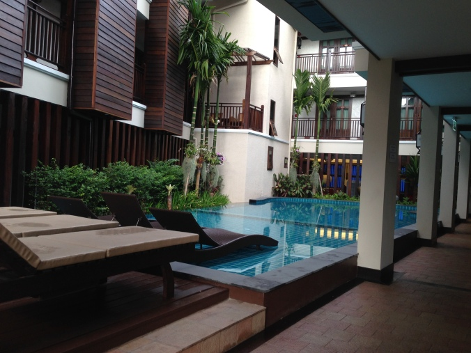Our hotel for a night or two in Chiang Mai.